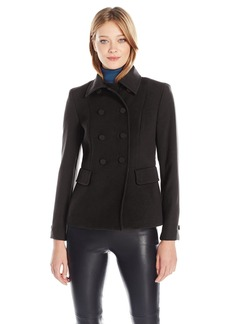 Anne Klein Women's Double Breasted Compression Jacket