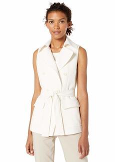 Anne Klein Women's Double Breasted Vest