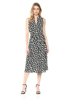Anne Klein Women's Drawstring Midi Dress  S