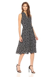 Anne Klein Women's Drawstring Midi Dress  XL