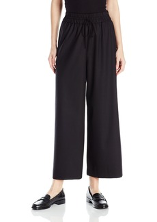Anne Klein Women's Drawstring Wideleg Pant