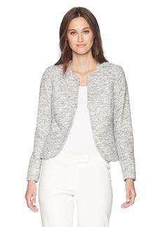 Anne Klein Women's Etched Tweed Jacket