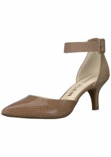 Anne Klein Women's Fabulist Ankle Strap Pump   M US
