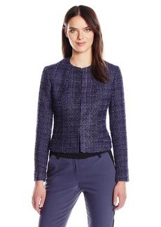 Anne Klein Women's Fancy Tweed Jacket