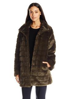 Anne Klein Women's Faux Fur Coat