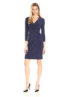 Anne Klein Women's Faux Wrap Dress