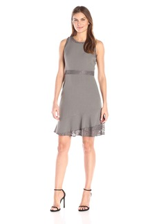 Anne Klein Women's Fit-and-Flare Tier Dress