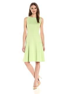 Anne Klein Women's Florence Str Boat Nk Drop Waist Fit and Flare