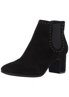 Anne Klein Women's Gabbie Suede Ankle Boot
