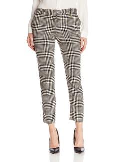 Anne Klein Women's Glen Check Slim Pant