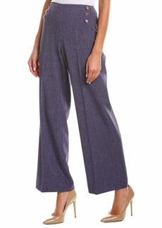 Anne Klein Women's High Waisted Wide Leg Pant