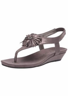 Anne Klein Women's Isotta Sandal Wedge   M US