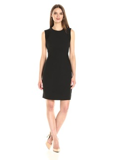 Anne Klein Women's Lace and Crepe Combo Sheath Dress