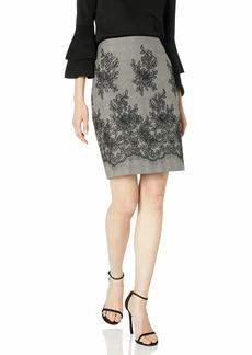 Anne Klein Women's LACE Pencil Skirt