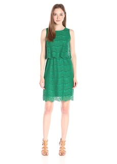 Anne Klein Women's Lace Sleeveless Dress