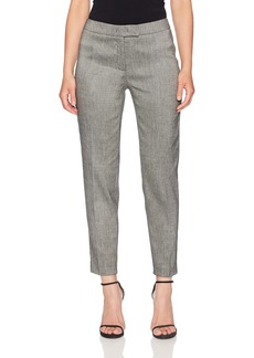 Anne Klein Women's Linen Twill Slim Bowie Pant