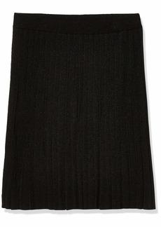 Anne Klein Women's Long Knit Pleated Skirt