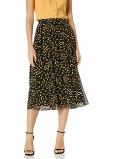 Anne Klein Women's Long Pleated Skirt