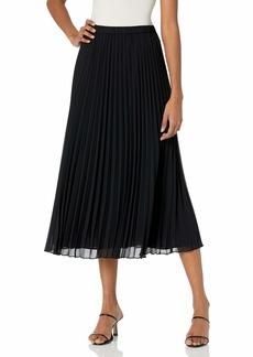 Anne Klein Women's Long Pleated Skirt  XL