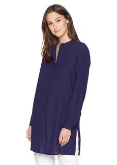 Anne Klein Women's Long Sleeve Placket Blouse  M