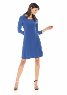 Anne Klein Women's Long Sleeve Shirt Dress  L