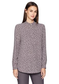 Anne Klein Women's Long Sleeve Tunic Blouse  M