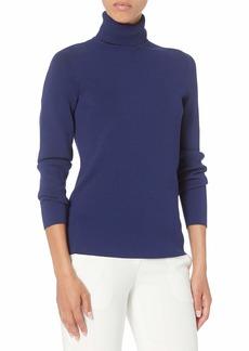 Anne Klein Women's Long Sleeve Turtleneck Sweater  S