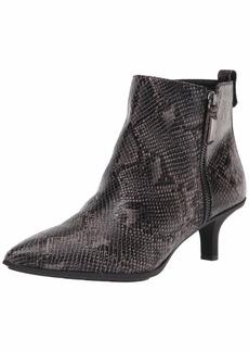 Anne Klein Women's Low Heel Pointy Toe Bootie Fashion Boot