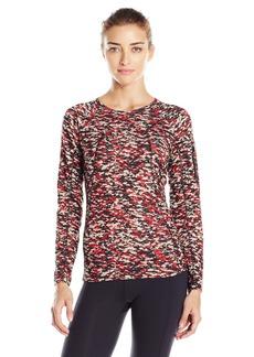Anne Klein Women's L/s Colorblock Top W/ Sleeve Pocket