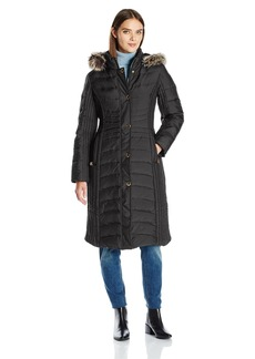 Anne Klein Women's Maxi Down Coat
