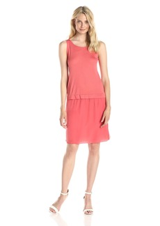 Anne Klein Women's Mixed Media Tank Dress