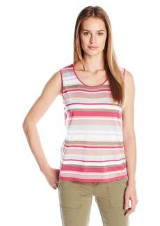 Anne Klein Women's Multi tripe weater Tank Pink hell Combo mall