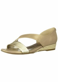 Anne Klein Women's Nancie Wedge Sandal   M US