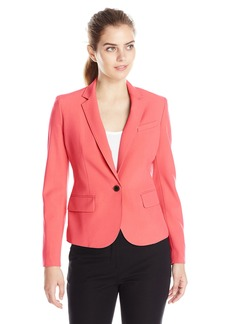 Anne Klein Women's One-Button Jacket