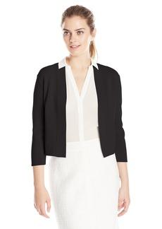Anne Klein Women's Open Bolero Dress Cardigan  X-Small