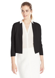Anne Klein Women's Open Bolero Dress Cardigan  arge