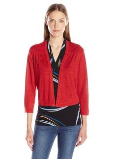 Anne Klein Women's Open Dress Cardigan