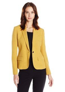 Anne Klein Women's Pin Dot One Button Jacket