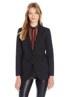 Anne Klein Women's Pinstripe Jacket