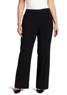 Anne Klein Women's Plus Size Pinstripe Pant