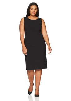 Anne Klein Women's Plus Size Sleeveless Sheath Dress  18W