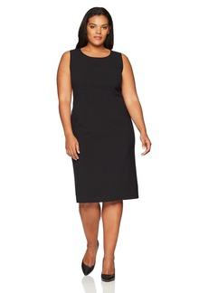 Anne Klein Women's Plus Size Sleeveless Sheath Dress