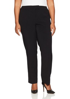 Anne Klein Women's Plus Size Slim Leg Pant