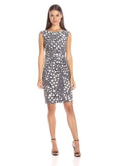 Anne Klein Women's Printed Side Twist Dress