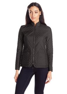 Anne Klein Women's Quilted Zipper Jacket