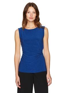 Anne Klein Women's Side Twist Knit Top  S