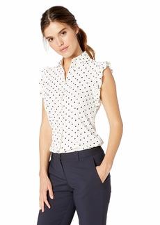 Anne Klein Women's Ruffle Sleeve Blouse TOP
