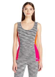 Anne Klein Women's Scoop Neck Tank W/Color Blocking  XL