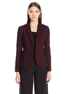 Anne Klein Women's Seersucker Stripe Jacket