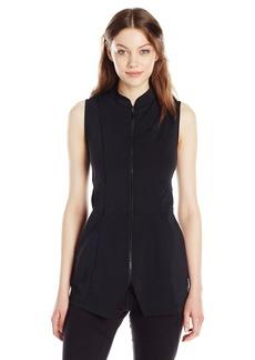 Anne Klein Women's Seeveless Double Jersey Vest  M